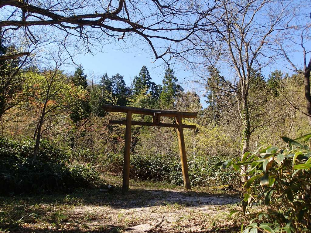 磐船神社の鳥居