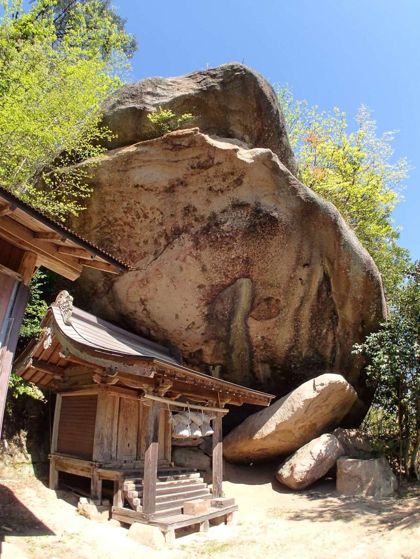 磐船神社の本殿