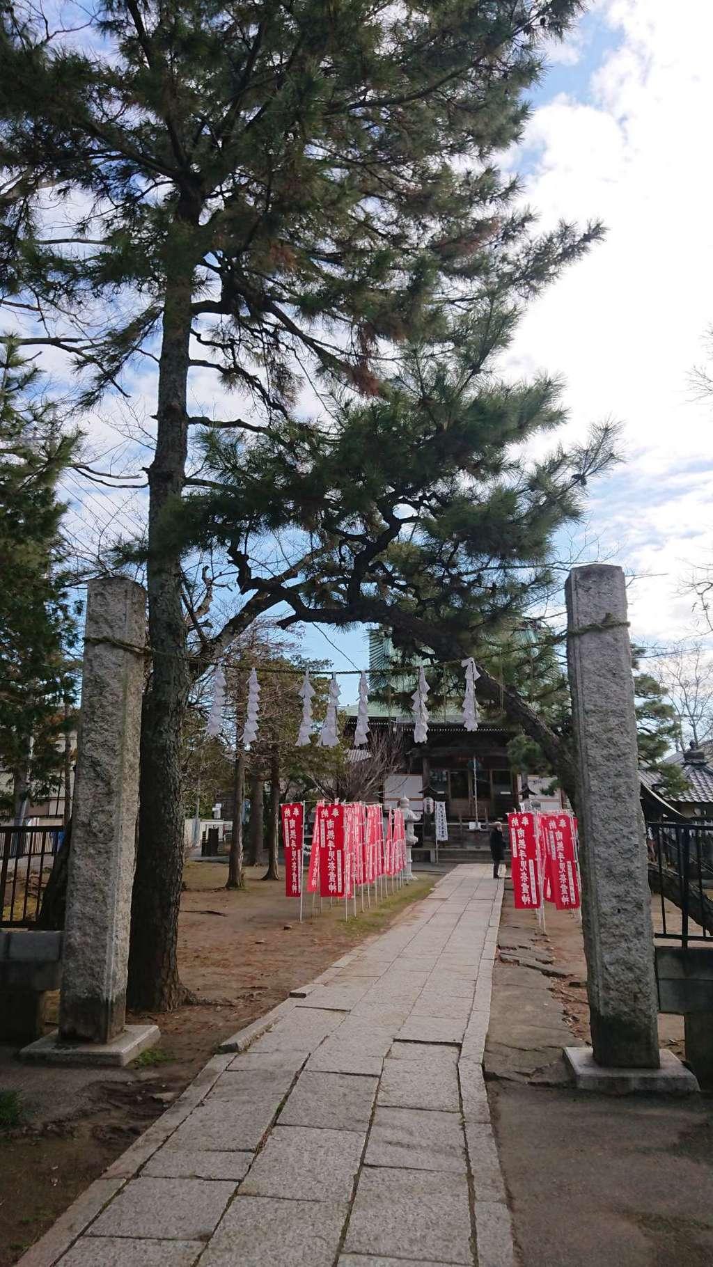 手児奈霊神堂の山門