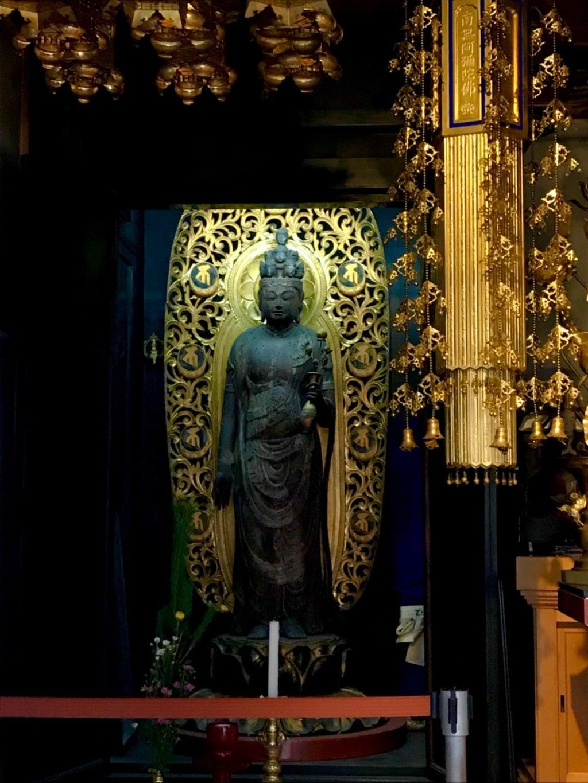 大林寺の仏像