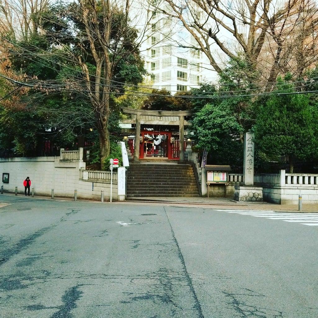 金王八幡宮の景色