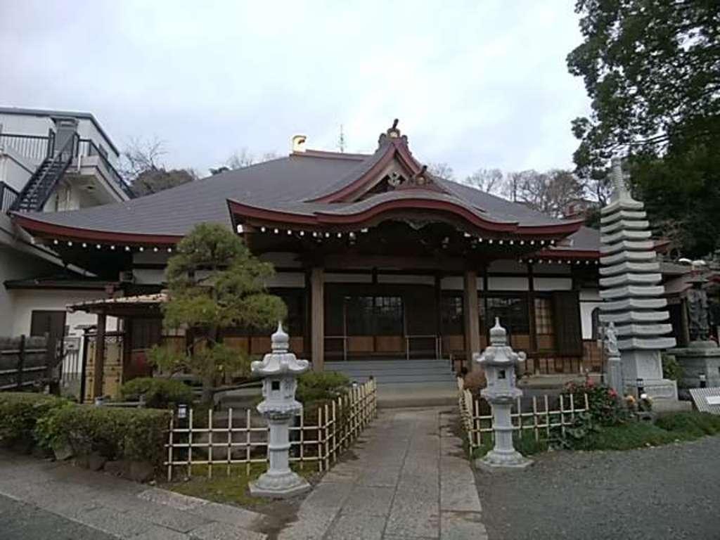 大仙寺の本殿