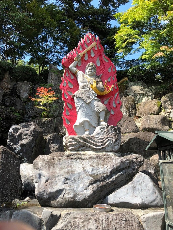 金乗院(那須波切不動尊) の像