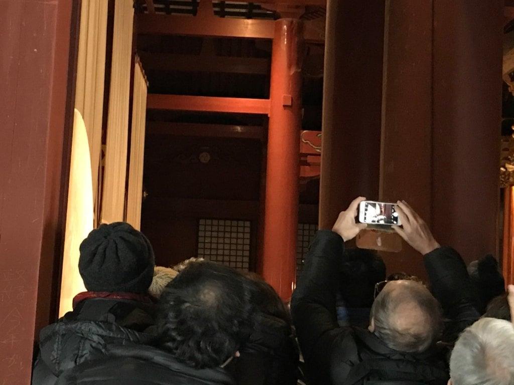 出羽三山神社  羽黒山三神合祭殿の体験その他