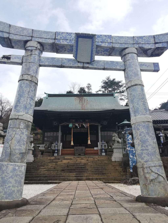 陶山神社の鳥居
