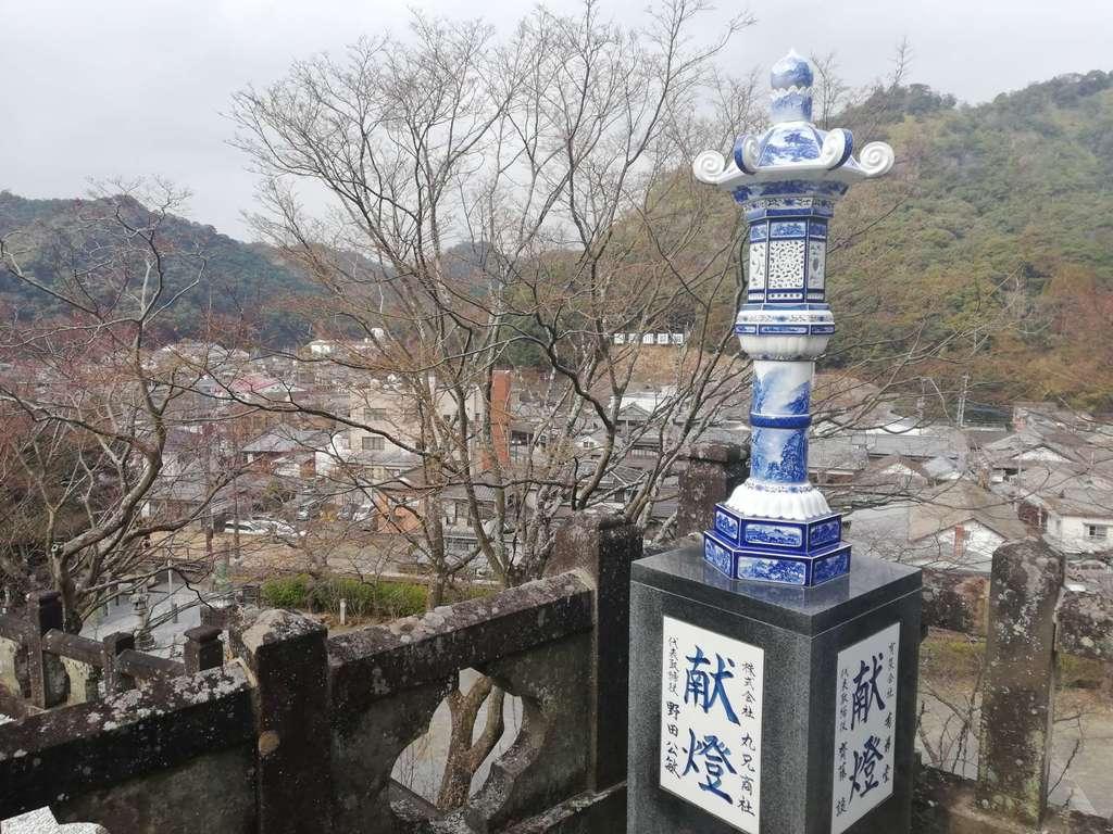陶山神社の景色
