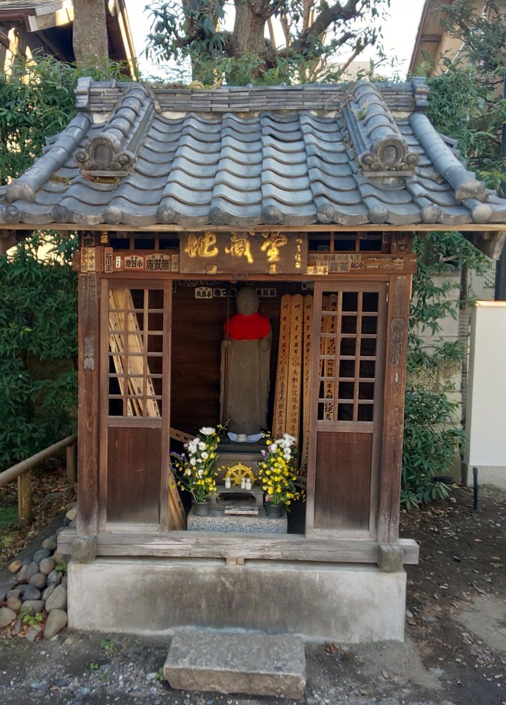 南藏院の地蔵