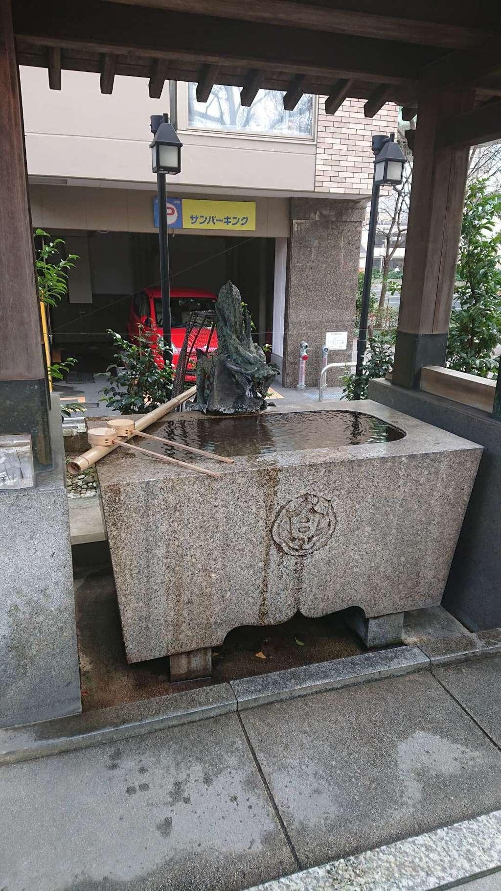 白龍神社の手水