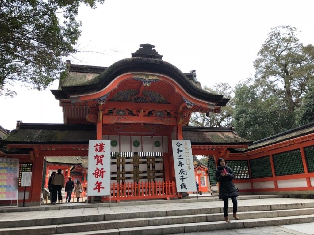 宇佐神宮の山門