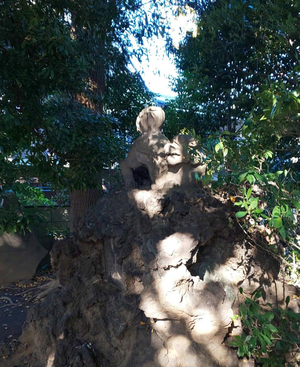 一山神社の狛犬