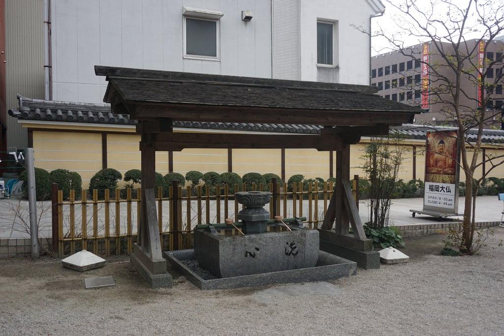 東長寺の手水