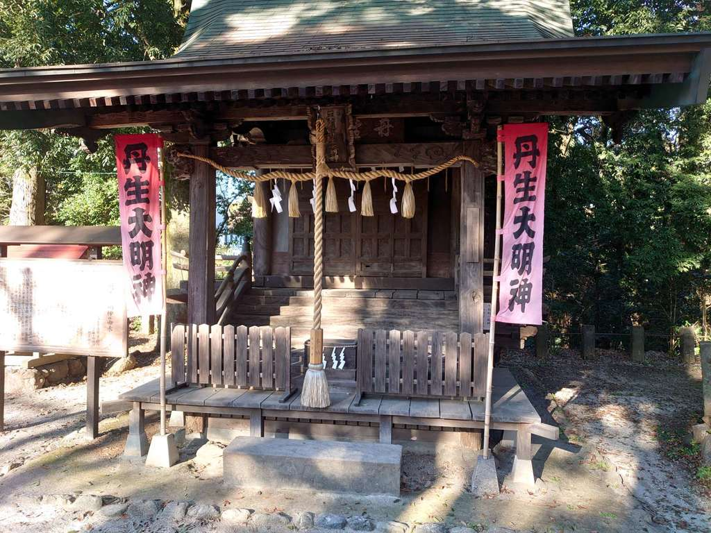 諏訪八幡神社の本殿