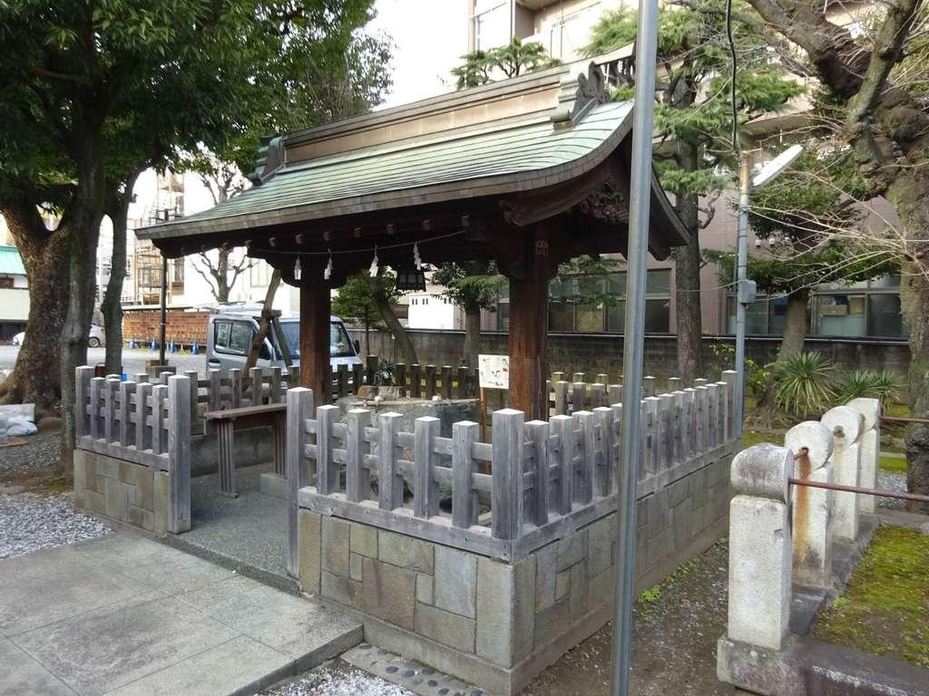 橘樹神社の手水