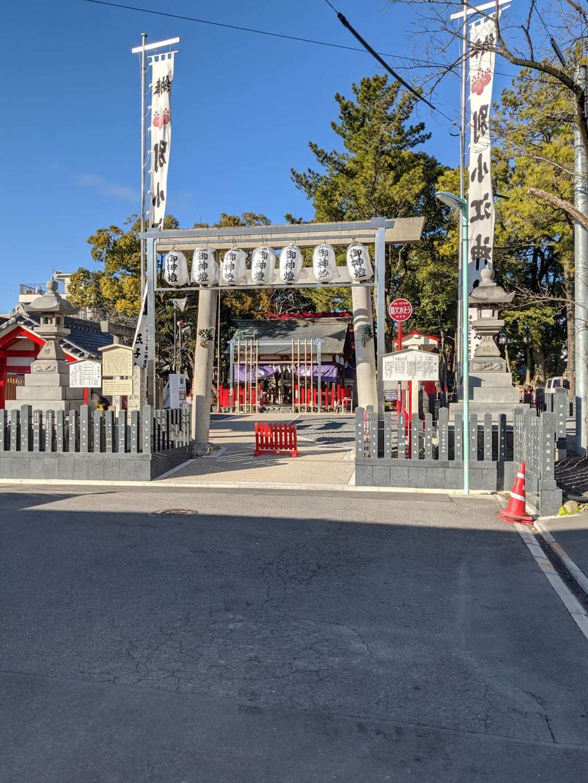 別小江神社の鳥居
