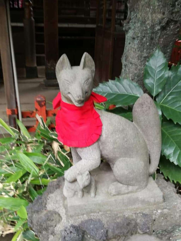 花園稲荷神社の狛犬