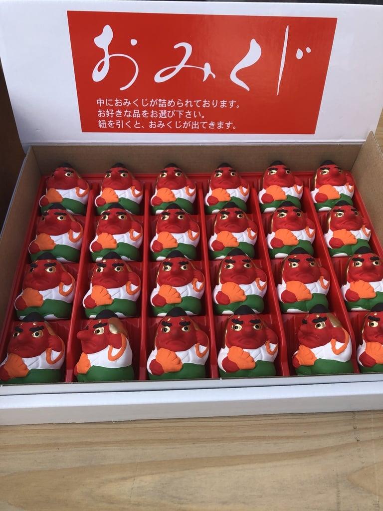 武蔵第六天神社のおみくじ