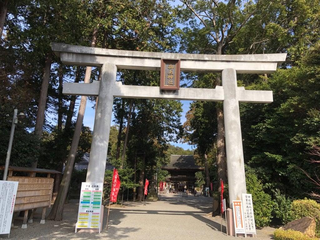 御上神社の鳥居