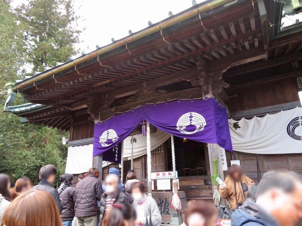 神炊館神社の本殿