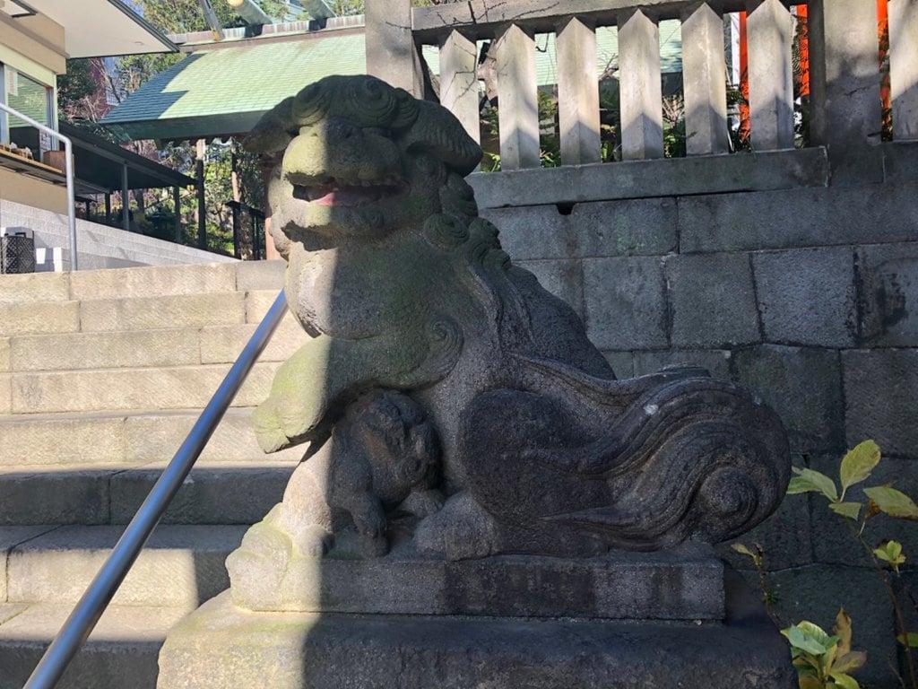 六本木天祖神社の狛犬
