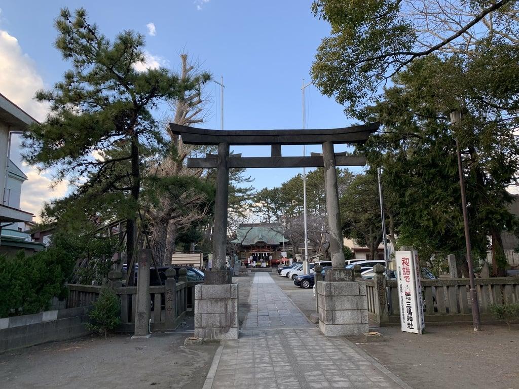 平塚三嶋神社(神奈川県)