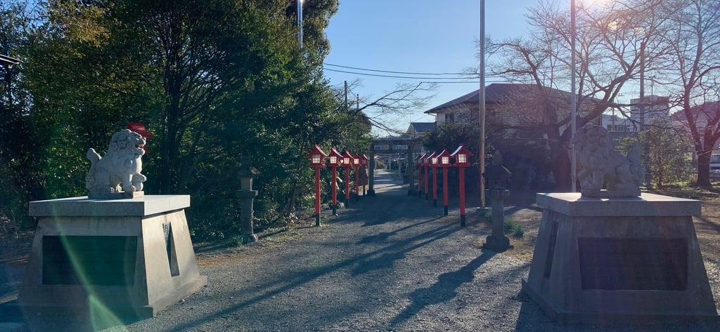 沼鉾神社の景色