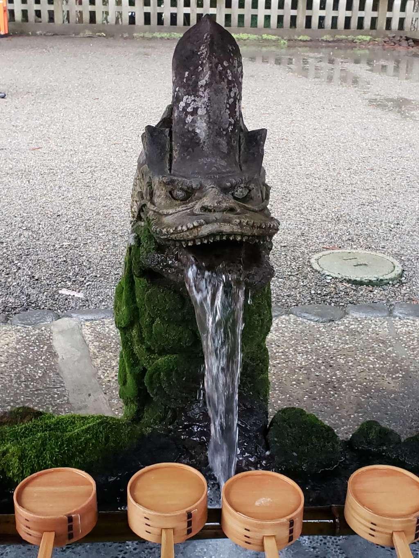 霧島神宮の手水
