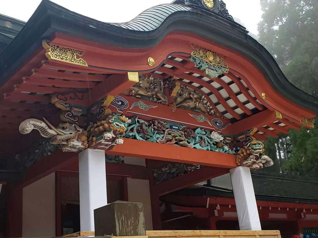 霧島神宮の芸術