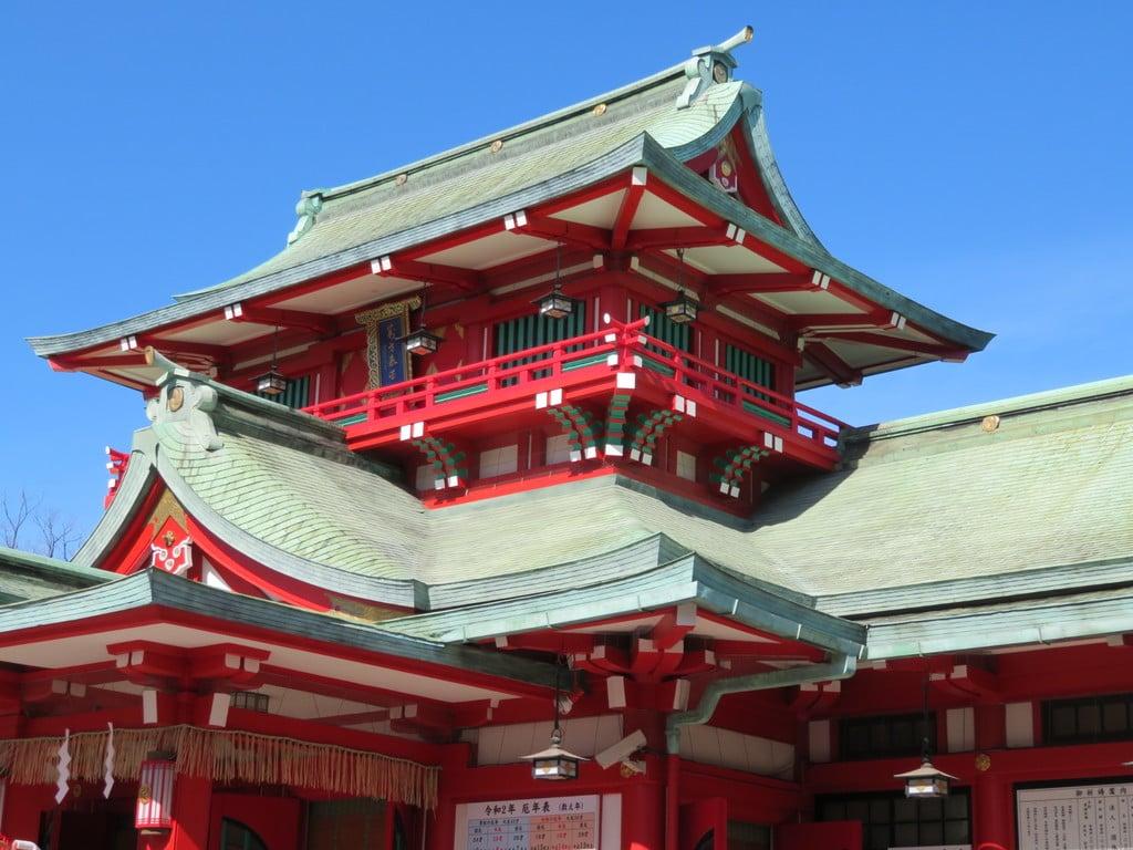 富岡八幡宮の山門