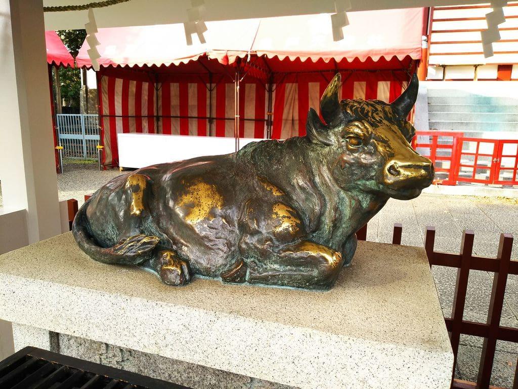 亀戸天神社の狛犬