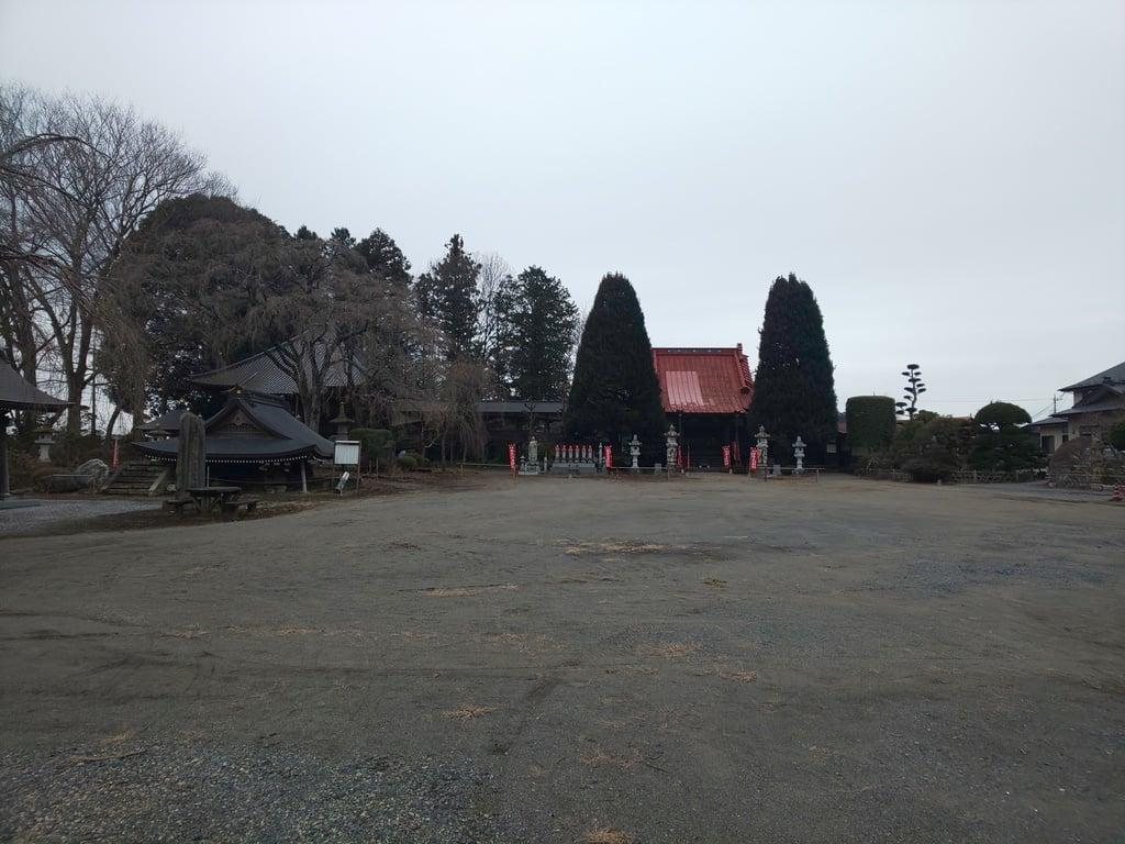 崇真寺(開運犬り切不動尊)の景色