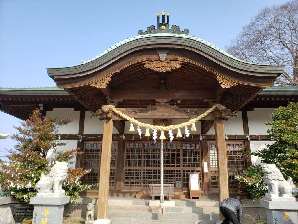 小浜神社の本殿