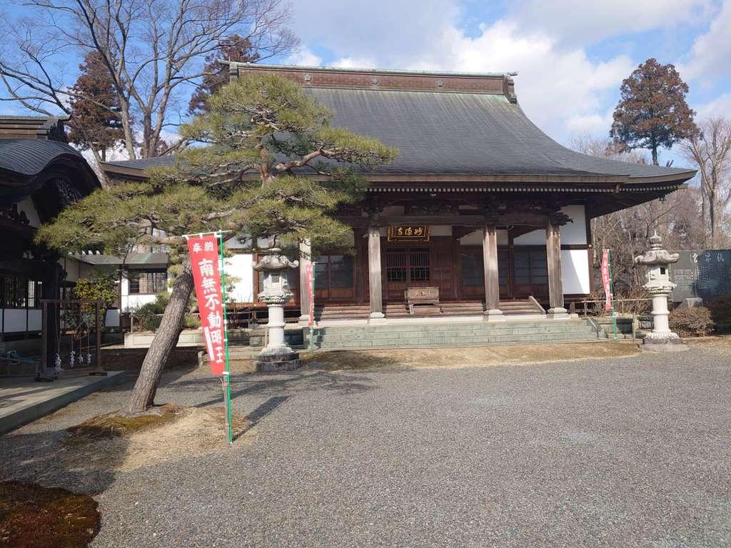妙徳寺の本殿