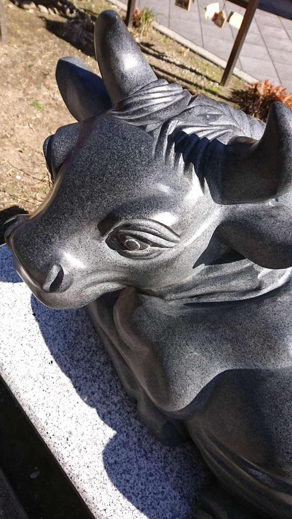 成子天神社の狛犬