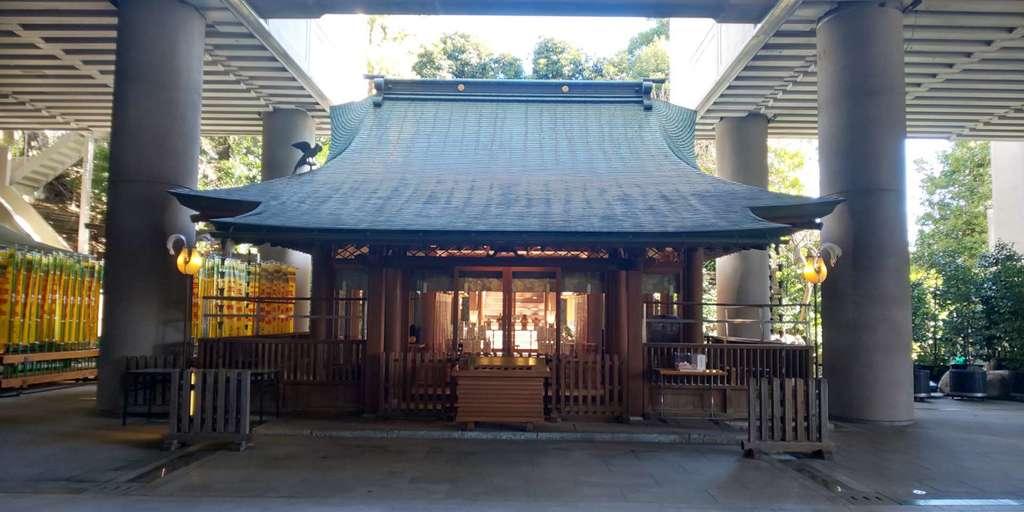雉子神社の本殿