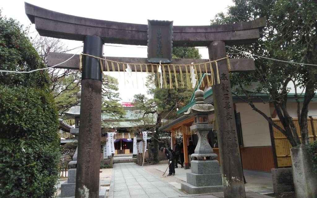日吉神社の鳥居