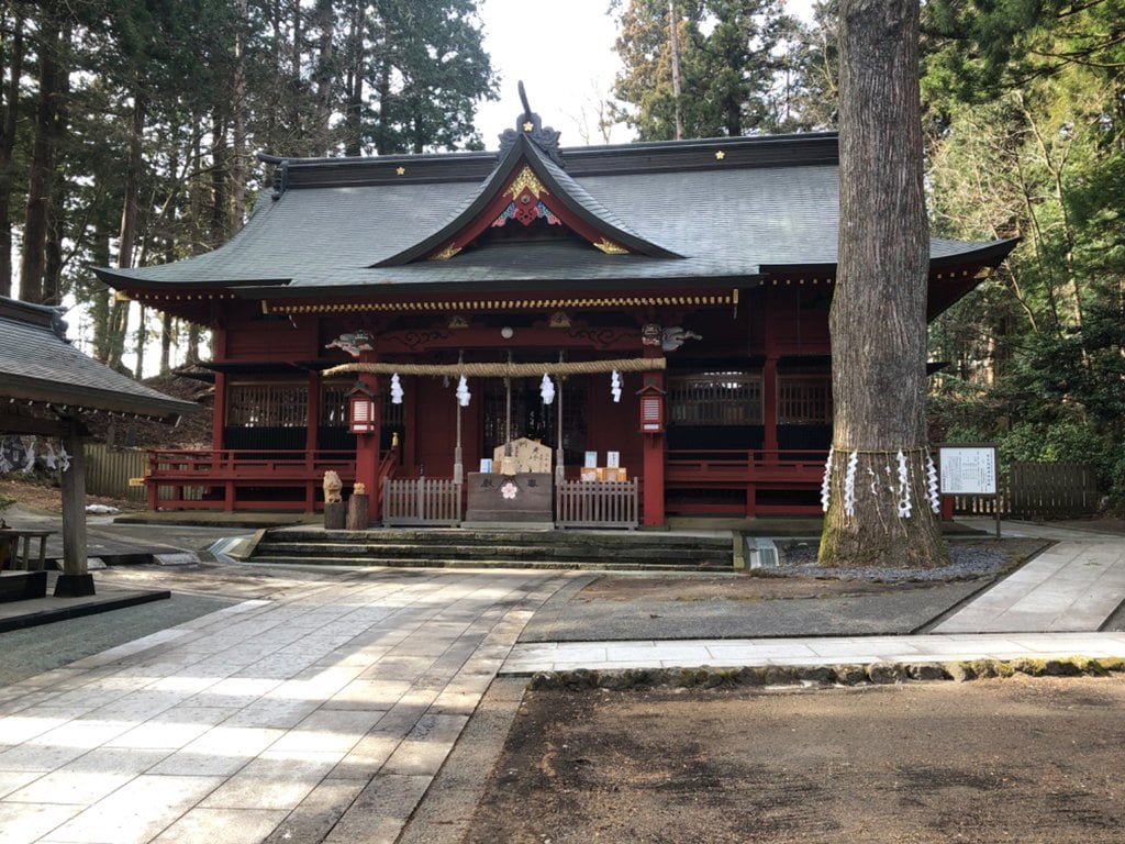 東口本宮冨士浅間神社の本殿