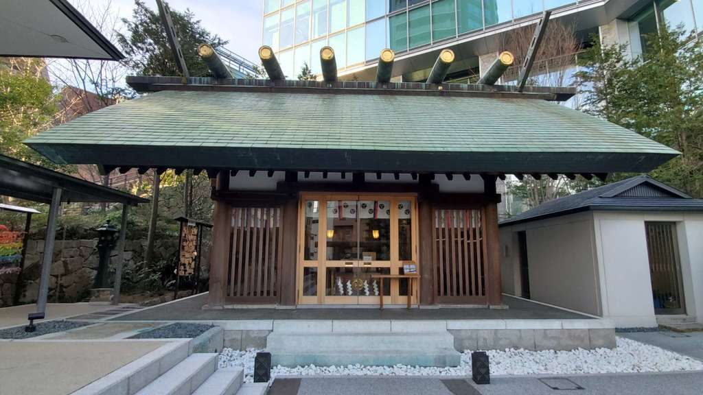 六本木天祖神社の本殿