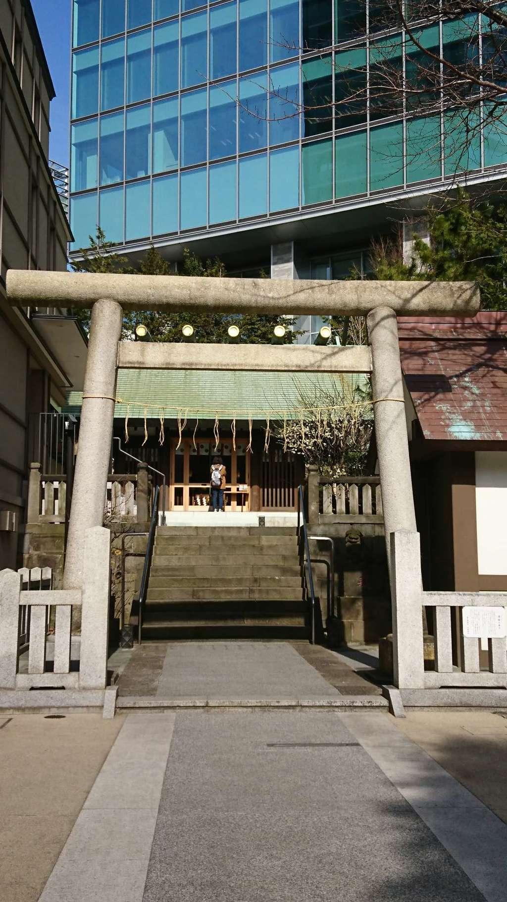 六本木天祖神社の鳥居