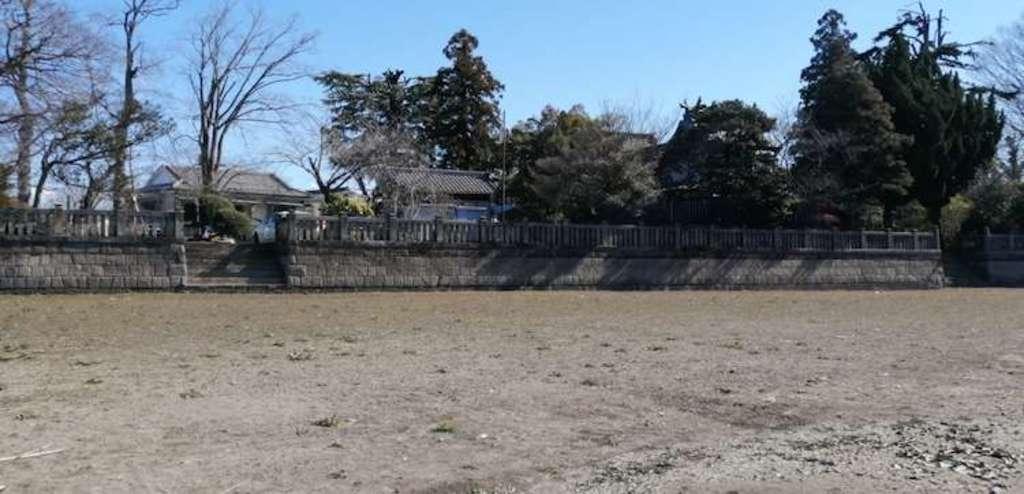 武蔵第六天神社の景色