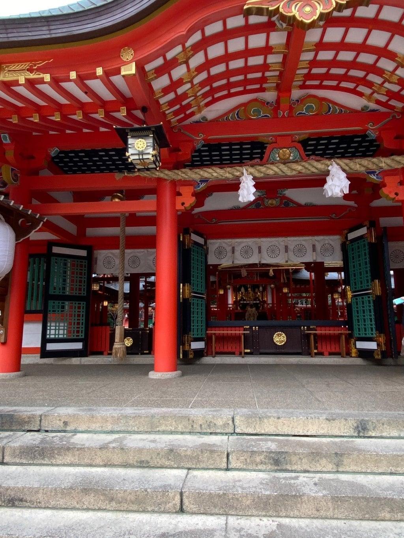 生田神社の本殿