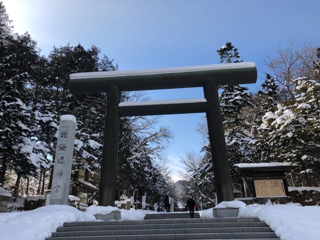 北海道神宮の鳥居