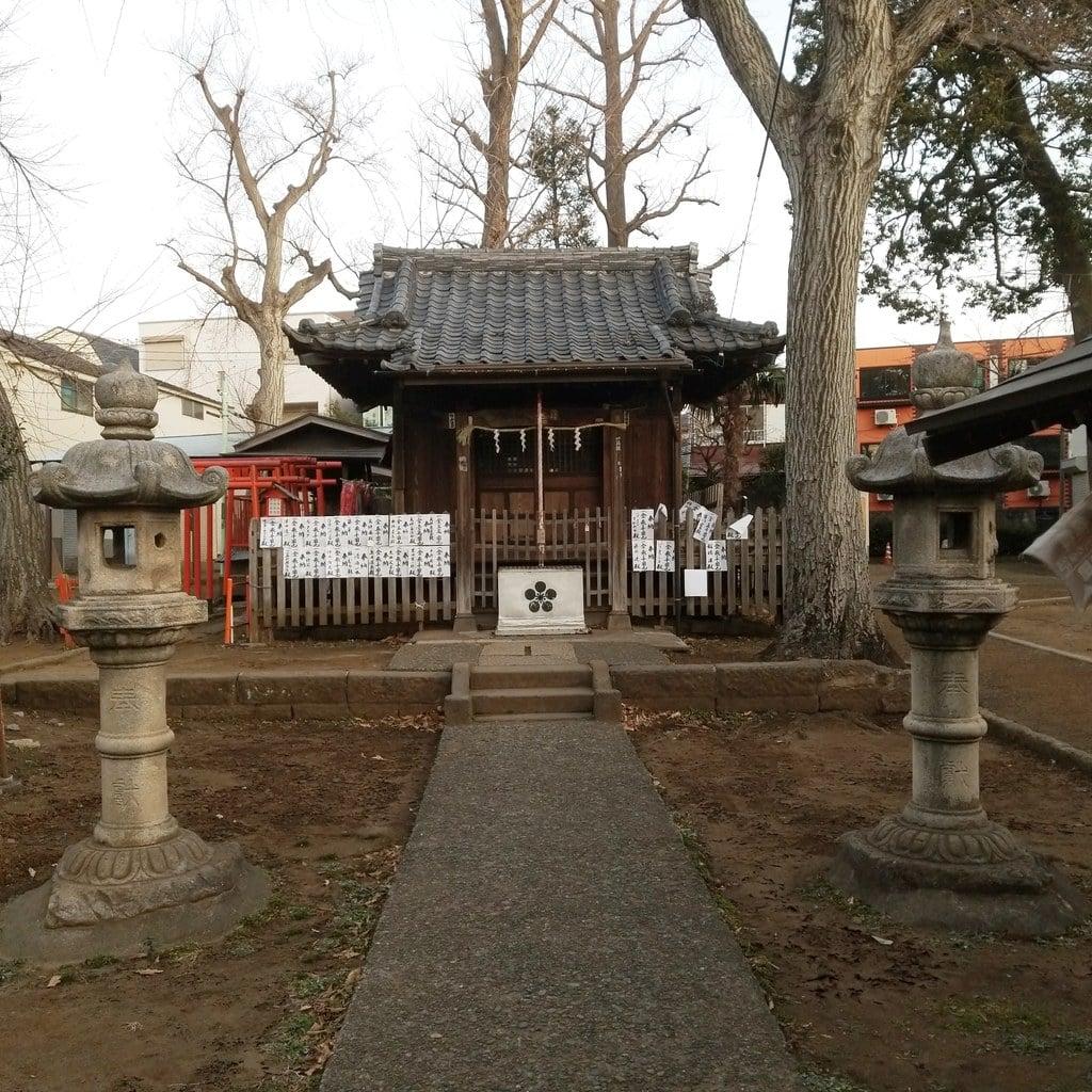 打越天神北野神社の本殿