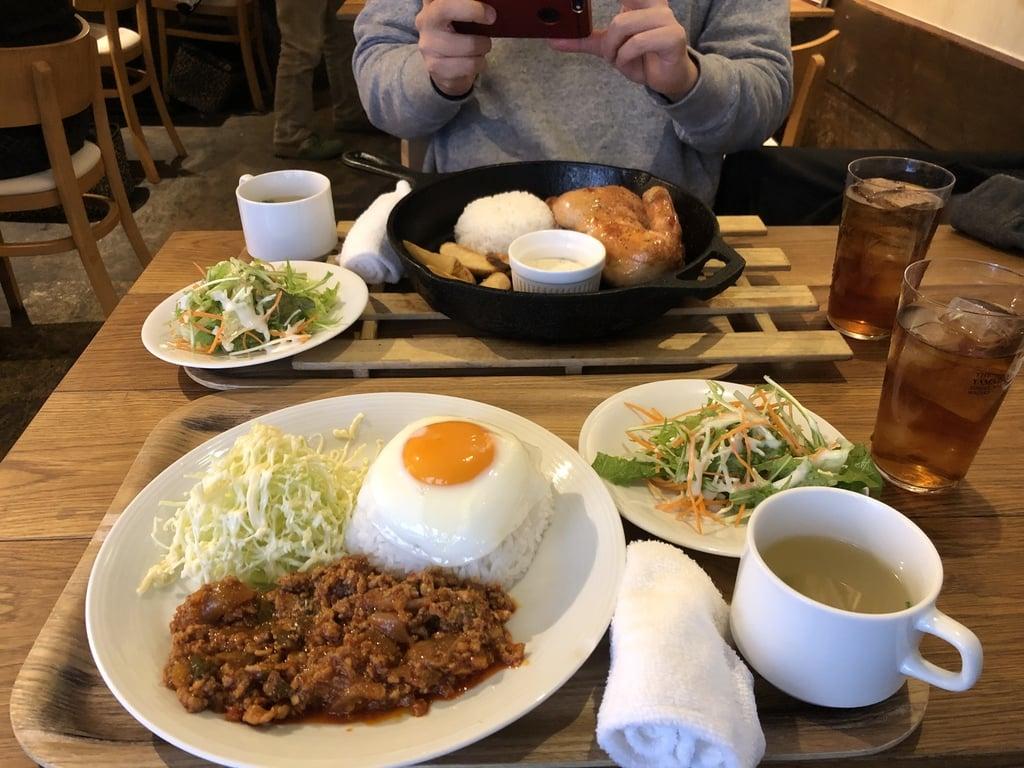 湯島天満宮の食事