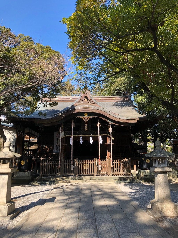 川口神社の本殿