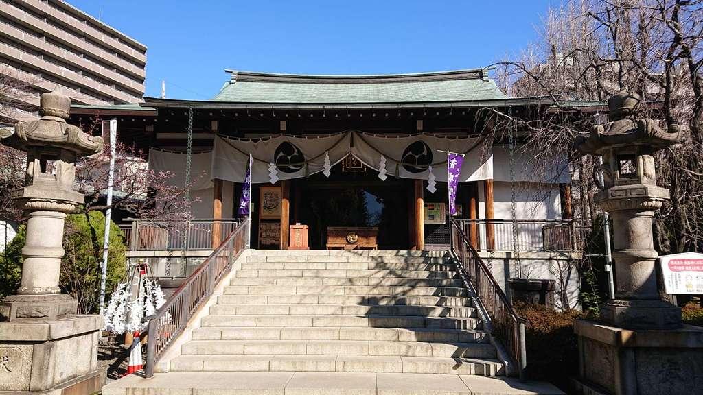 亀戸香取神社の本殿