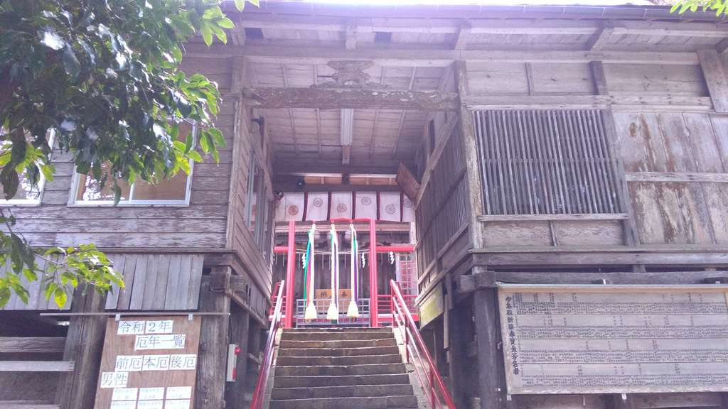 諏訪神社の山門