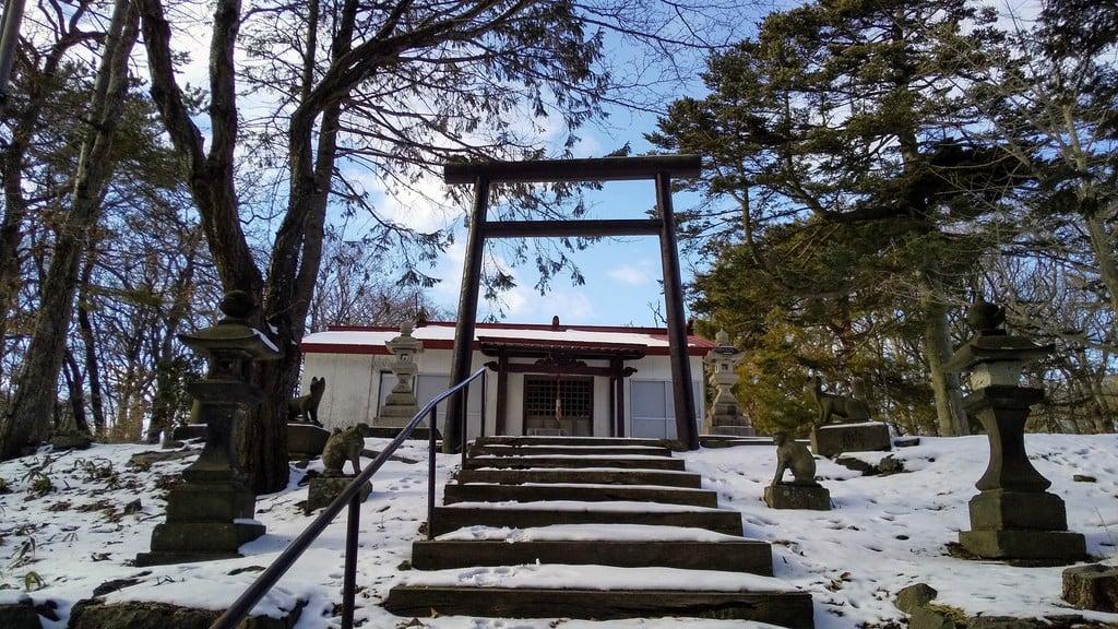 崎守神社の鳥居