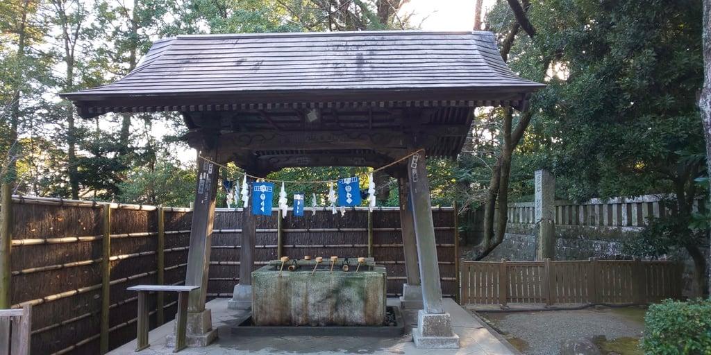 報徳二宮神社の手水