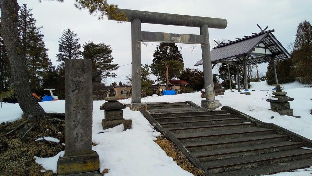 早来神社の鳥居