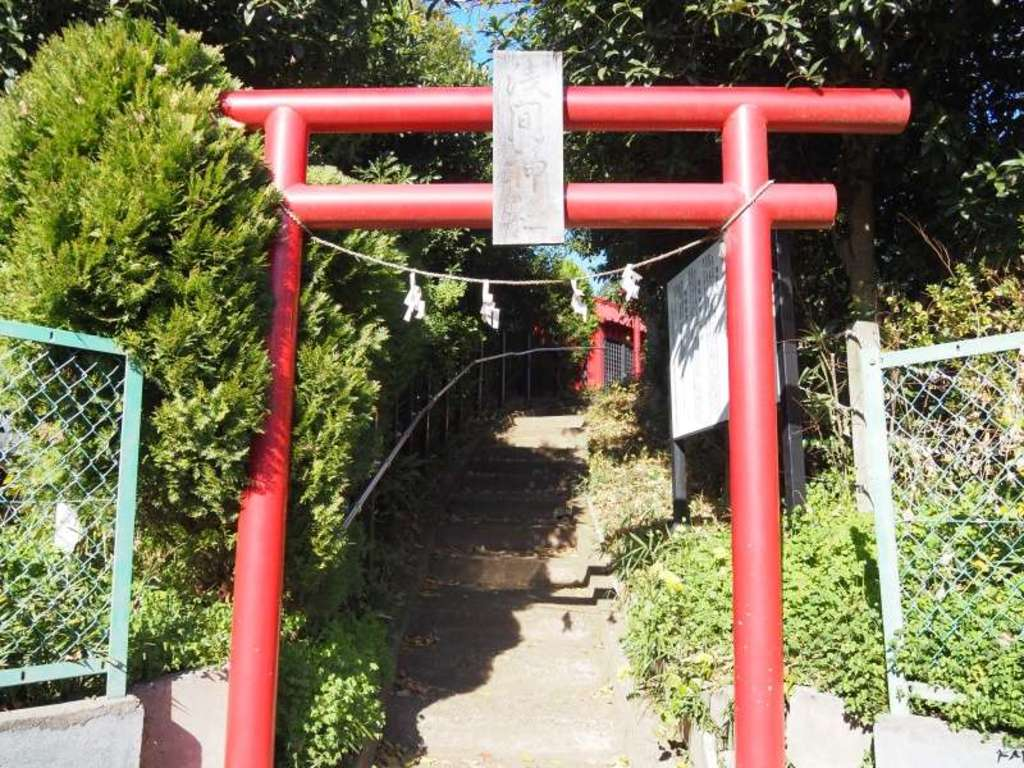 大宮浅間神社の鳥居